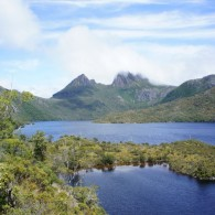 Cradle Mountain at Dove Lake