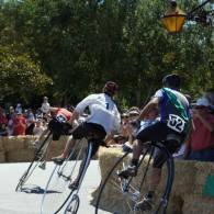 Penny farthing championship at Evendale