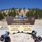 Monarch Pass and the Continental Divide
